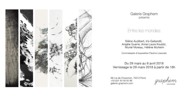 Entre les mondes-galerie Graphem-Invitation