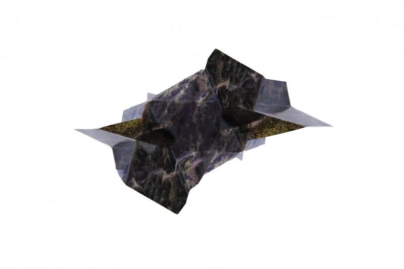 Iris Gallarotti - météorites #1 - 40x60cm-2016