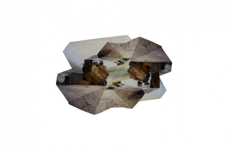 Iris Gallarotti - météorites #2 - 40x60cm-2016